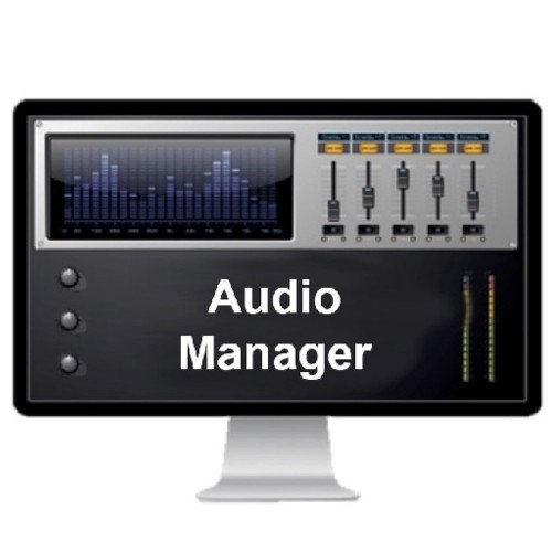 Axis Audio Management, Software AXIS Audio Manager