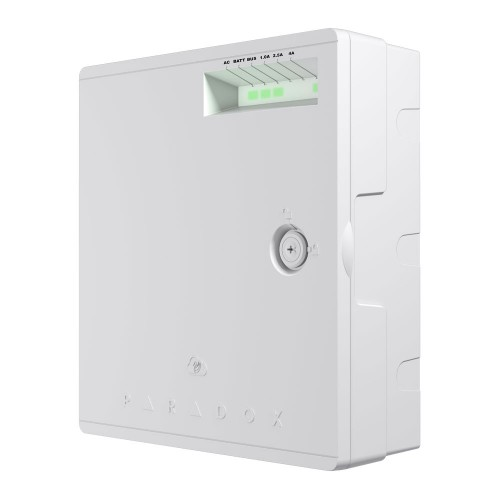 PS45, 75W 100-240 Vac or 13.8 Vdc Battery to 15 Vdc Standalone or Supervised Backup Power Supply