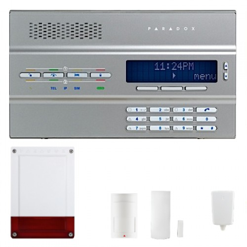 KA-001, Wireless Alarm System Package, All Wireless, GSM Module Alarm System Set (1 Detector)